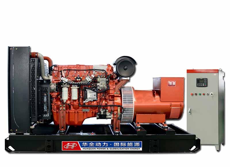 350kw玉柴联合动力发电机组